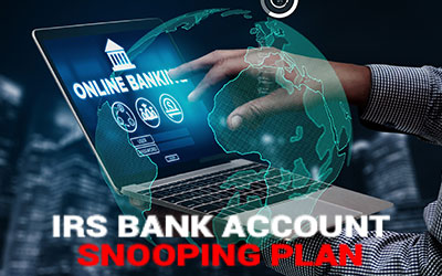 Should the IRS have access to our bank accounts?